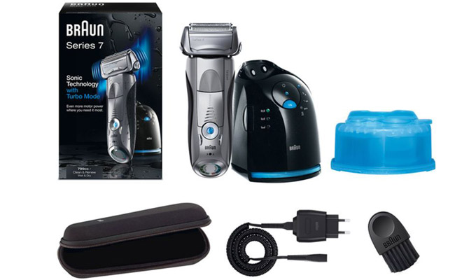 Braun Series 7 package contents